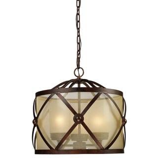 Cumberland 3-light Classic Bronze Chandelier