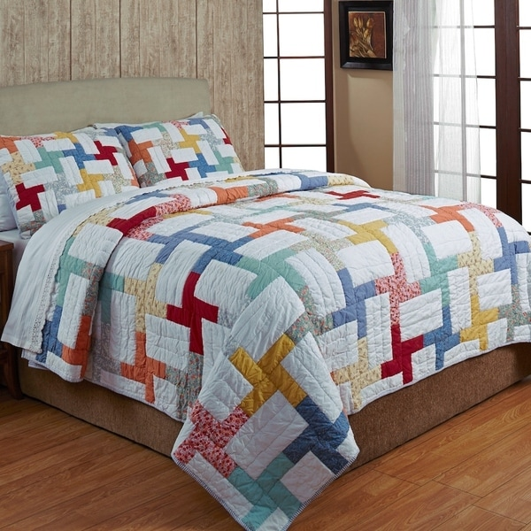 Georgina Cotton 3-piece Quilt Set