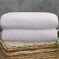 Classic Turkish Towel Arsenal Cotton Large Bath Sheet (Set of 2)