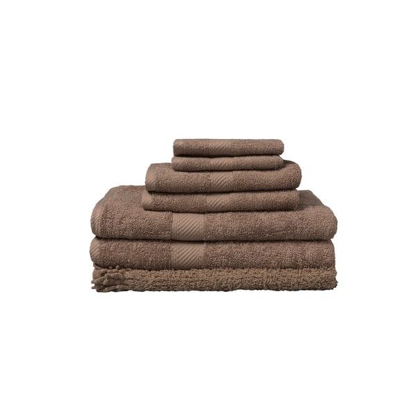 7 Piece Matching Towel And Bath Rug Set