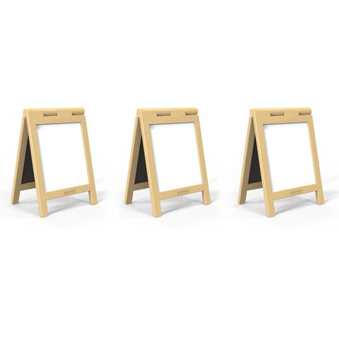 Guidecraft Natural Mini Message Boards (Set of 3)