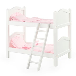 Guidecraft White Doll Bunk Bed