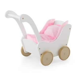 Guidecraft White Doll Buggy|https://ak1.ostkcdn.com/images/products/9078389/Guidecraft-White-Doll-Buggy-P16269851.jpg?impolicy=medium