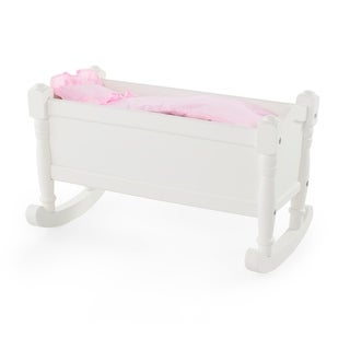 Guidecraft White Doll Cradle