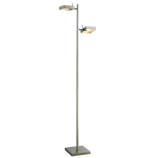 Avery Home Lighting Minimalist 2-light Metal Floor Lamp