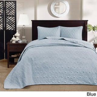 Madison Park Mansfield Oversized 3-piece Bedspread Mini Set (4 options available)