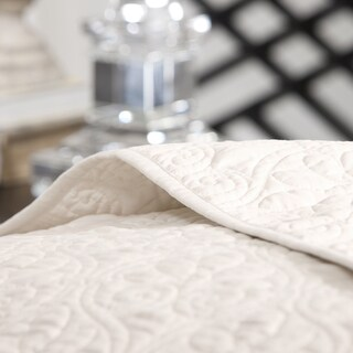 Madison Park Mansfield 3-piece Oversized Bedspread Set