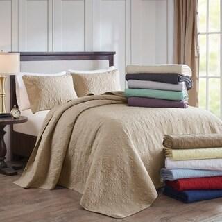 Madison Park Mansfield Reversible Bedspread Set