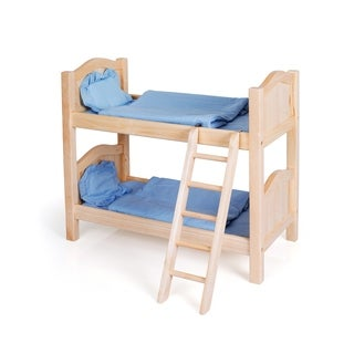Guidecraft Natural Doll Bunk Bed
