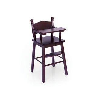 Guidecraft Espresso Doll High Chair