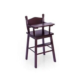 Guidecraft Espresso Doll High Chair