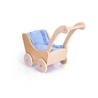 Guidecraft Natural Doll Buggy