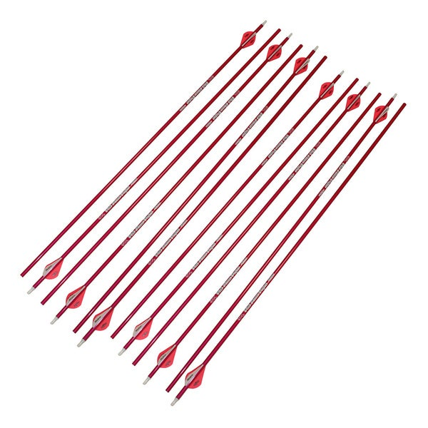Victory archery 12pk vforce v3 350 pink arrow free for Overstock free returns