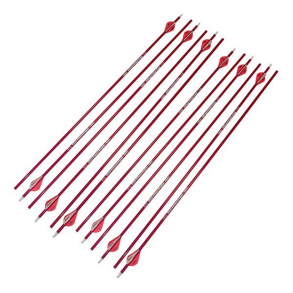 Victory Archery 12pk Vforce V3 350 Pink Arrow Free