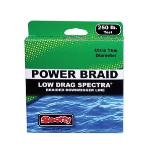 Scotty Premium Braided Fiber Downrigger Line Kit