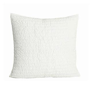 Brighton White Quilted Cotton Euro Sham|https://ak1.ostkcdn.com/images/products/9078518/P16269940.jpg?impolicy=medium