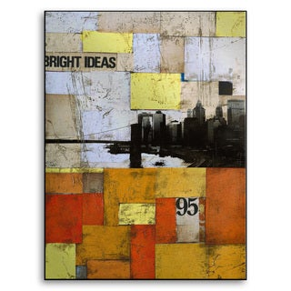 Gallery Direct M. Drake's 'Bright Ideas' Metal Art Wall Art