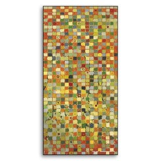Gallery Direct Leslie Saris's 'Channels III' Metal Art Wall Art