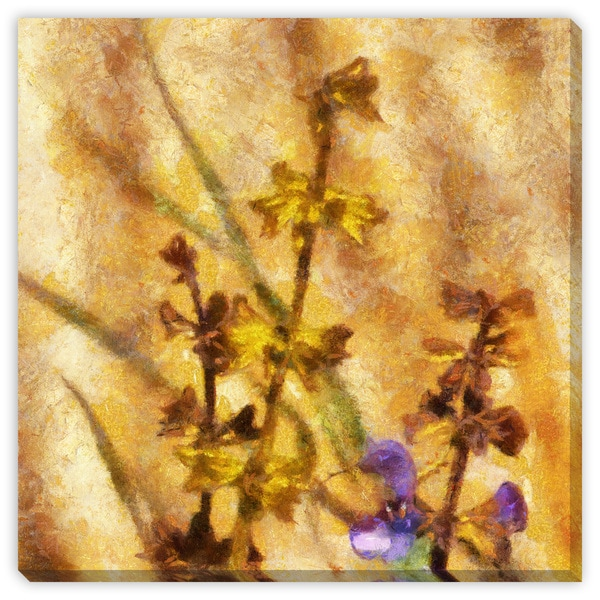 Gallery Direct Roman Solar\'s \'Soul Blossoming II\' Canvas Gallery ...