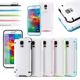 Gearonic Crystal Clear Ultra-thin PC Case for Samsung Galaxy S5 SV i9600