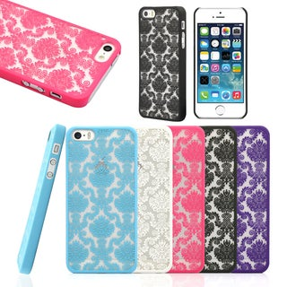 Gearonic Ultra thin Case Flower Pattern Cover For Apple iPhone 5 5S 5G