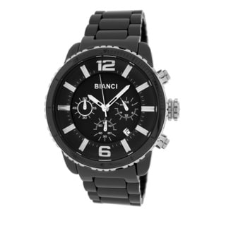Roberto Bianci Men's 5875M Black Ceramic Chronograph Watch