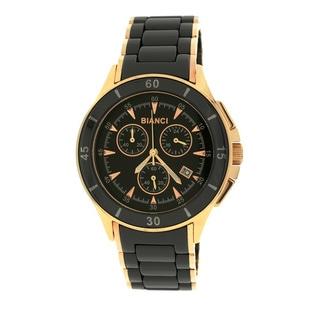 Roberto Bianci 5873U Rose Goldplated Black Ceramic Chronograph Watch