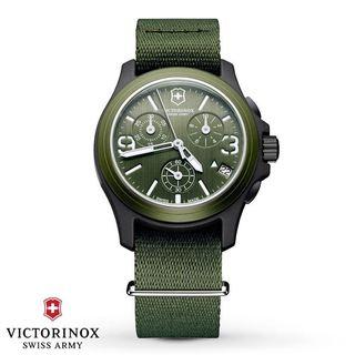 Swiss Army Men's 241531 Original Chronograph Olive Green Watch