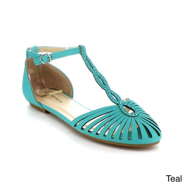 Teal Flat Wedding Shoes