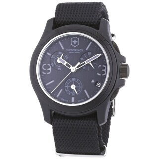 Victorinox Swiss Army Men's 241534 Original Chronograph Black Watch