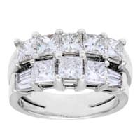 Pre-owned 14k White Gold 2ct TDW Diamond Multi-band Estate Ring (H-I, SI1-SI2)
