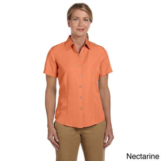 Women's 'Barbados' Textured Camp Shirt (4 options available)