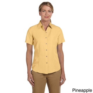 Women's 'Barbados' Textured Camp Shirt (3 options available)