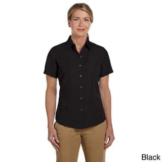 Women's 'Barbados' Textured Camp Shirt (As Is Item)|https://ak1.ostkcdn.com/images/products/9079226/Womens-Barbados-Textured-Camp-Shirt-P16270564.jpg?impolicy=medium