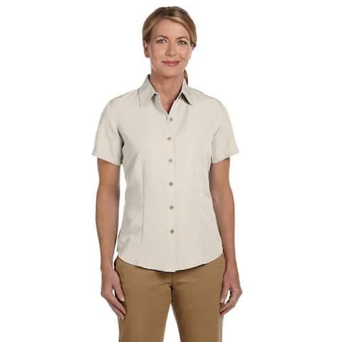 Women's 'Barbados' Textured Camp Shirt