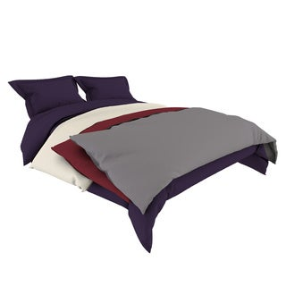 Microfiber 3-piece Duvet Cover Set