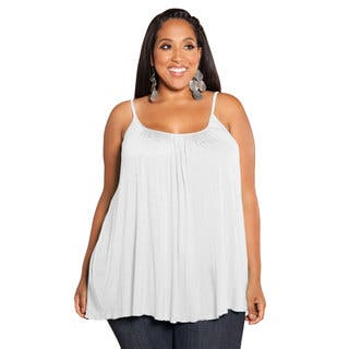Sealed With a Kiss Women's White Plus-size Pretty Jersey Camisole|https://ak1.ostkcdn.com/images/products/9079287/Sealed-With-a-Kiss-Womens-White-Plus-size-Pretty-Jersey-Camisole-P16270608.jpg?impolicy=medium