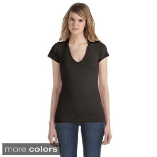 Alternative Women's Cotton Jersey V-neck T-shirt