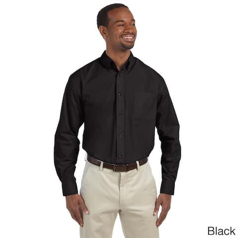 Men's Essential Poplin Button-down Shirt