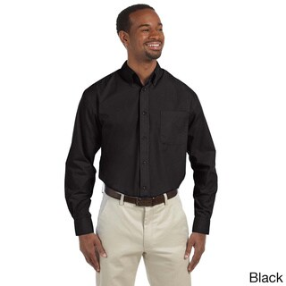 Link to Men's Essential Poplin Button-down Shirt Similar Items in Shirts