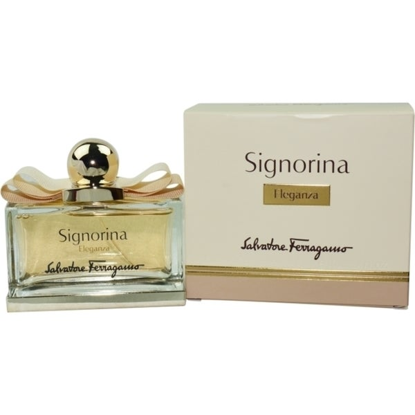 shop salvatore ferragamo signorina eleganza women 39 s 3 4 ounce eau de parfum spray free. Black Bedroom Furniture Sets. Home Design Ideas