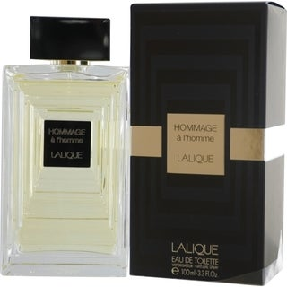 Lalique Hommage A L'homme Men's 3.4-ounce Eau de Toilette Spray