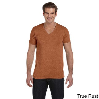 Alternative Men's Boss V-neck T-shirt (Option: XS,ECO TRUE RUST)