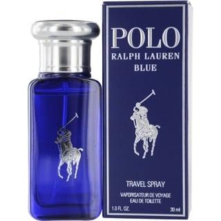 Ralph Lauren Polo Blue Men's 1-ounce Eau de Toilette Spray (Travel Size)