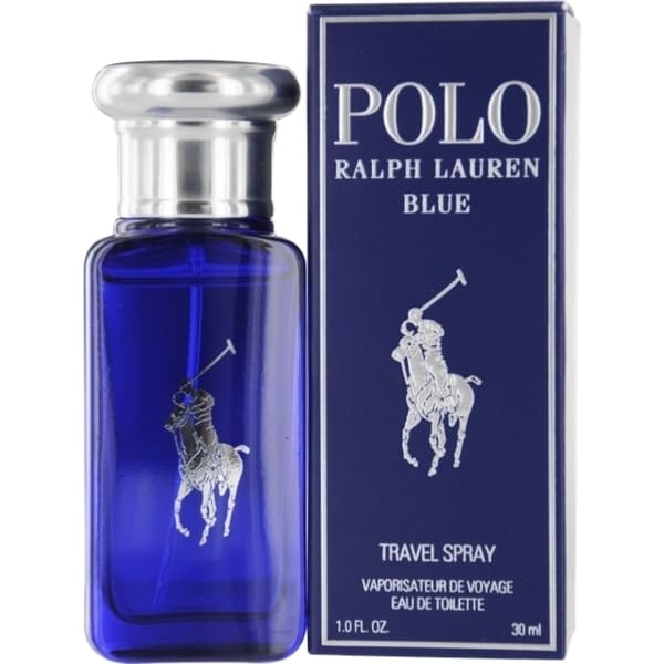 Ralph Lauren Polo Blue Men\u0026#x27;s 1-ounce Eau de Toilette Spray