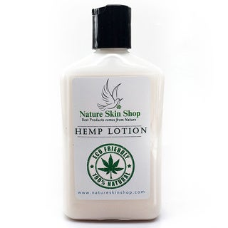 Natural Hemp 10-ounce Body Lotion for Dry Sensitive Skin