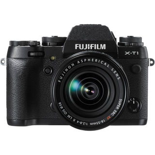 FujiFilm X-T1 Mirrorless Digital Camera Body with XF 18-55mm f/2.8-4 R LM Lens