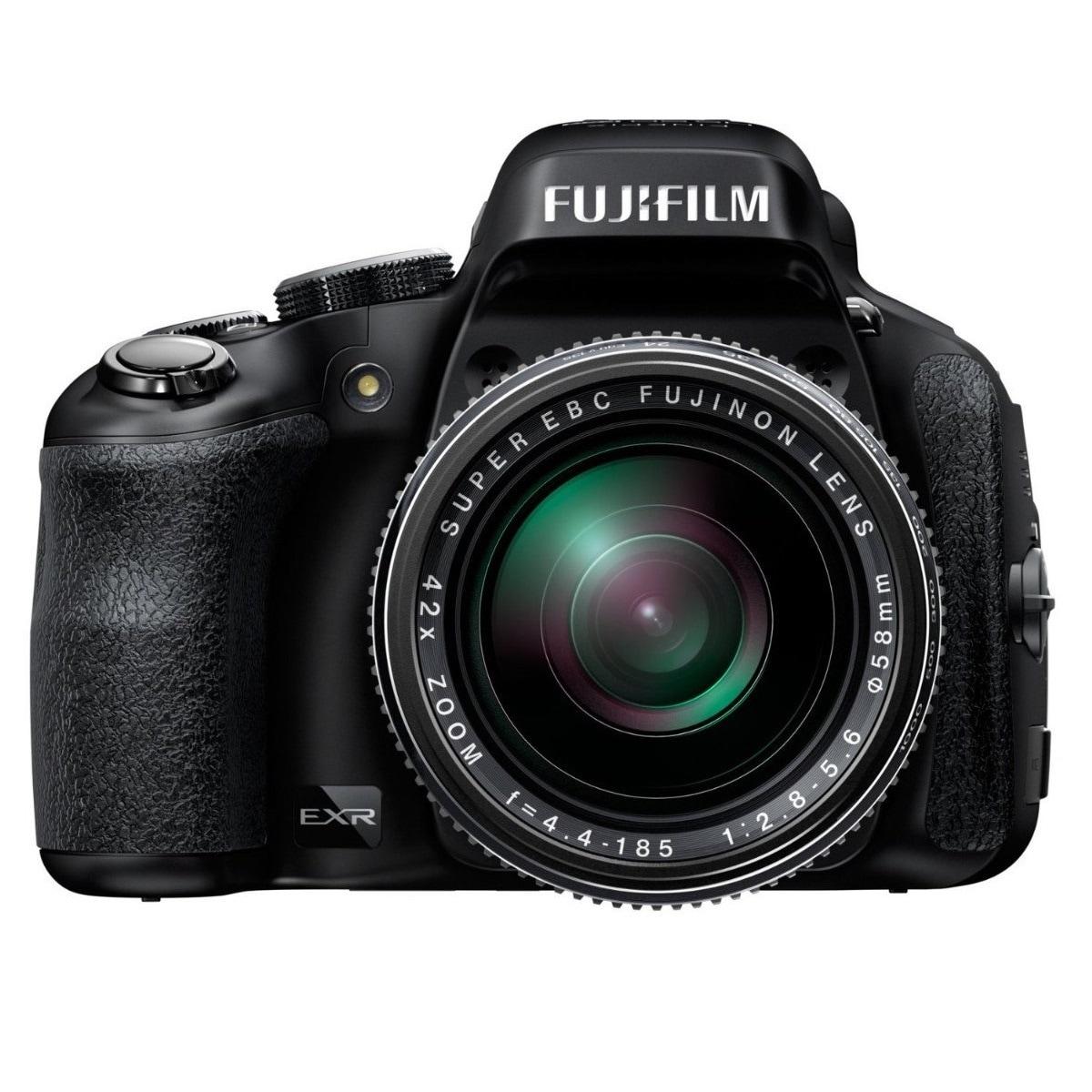 Fuji HS50EXR 16MP Black Digital Camera (New Non Retail Pa...