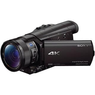 Sony FDR-AX100 4K Ultra HD Black Camcorder with 1-inch Sensor|https://ak1.ostkcdn.com/images/products/9079476/P16270773.jpg?impolicy=medium