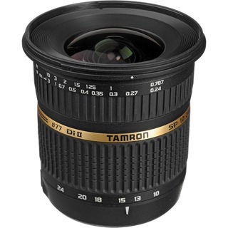 Tamron SP 10-24mm f / 3.5-4.5 DI II Zoom Lens For Sony DSLR Cameras